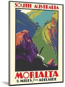 Morialta, South Australia - 8 miles from Adelaide by Frederick Millward Grey