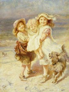 A Day at the Beach by Frederick Morgan