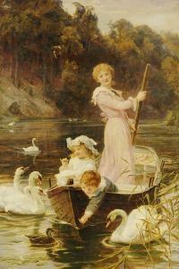 A Day on the River by Frederick Morgan