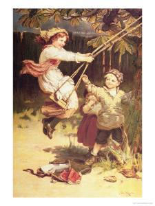 After School by Frederick Morgan
