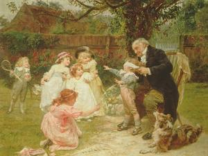 Blind Man's Buff by Frederick Morgan