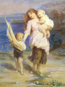 Day at the Seaside by Frederick Morgan