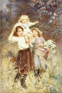 Gathering Flowers by Frederick Morgan