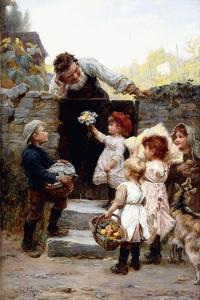 Grandfather's Birthday by Frederick Morgan