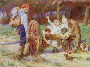 Happy as the Days are Long by Frederick Morgan