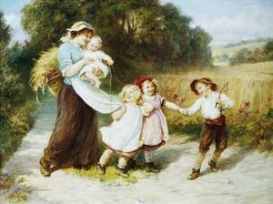 Happy Days by Frederick Morgan