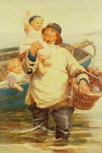 Home Again by Frederick Morgan