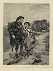 Little Nell and Her Grandfather by Frederick Morgan