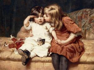 Never Mind!, 1884 by Frederick Morgan