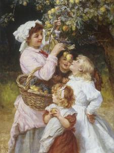 Picking Apples by Frederick Morgan