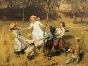 Ring-A-Ring-A-Roses-Oh by Frederick Morgan