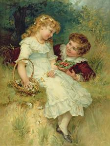 Sweethearts, from the Pears Annual, 1905 by Frederick Morgan