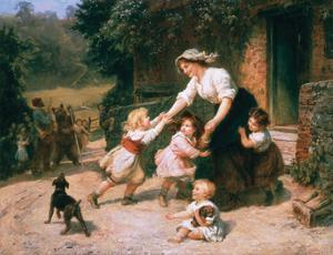 The Dancing Bear by Frederick Morgan