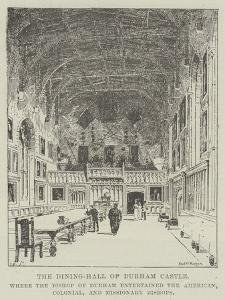 The Dining-Hall of Durham Castle by Frederick Morgan