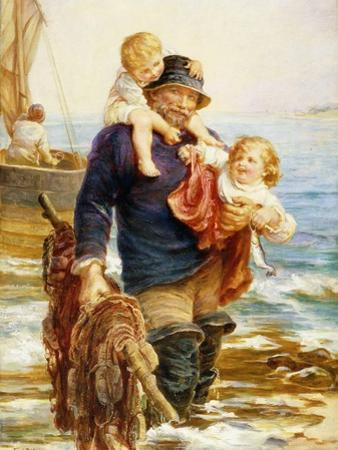 The Ferry by Frederick Morgan