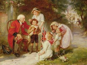The Old Soldier by Frederick Morgan