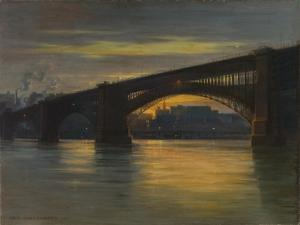 The Bridge, 1903 by Frederick Oakes Sylvester