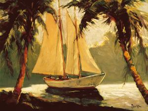 Sailboat, Santa Barbara by Frederick Pawla
