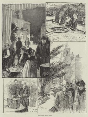 Sketches at Monte Carlo by Frederick Pegram