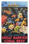 Great Barrier Coral Reef c.1933-Frederick Phillips-Art Print