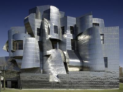 Frederick R. Weisman Art Museum Designed by Frank Gehry Opened in 1993--Photo