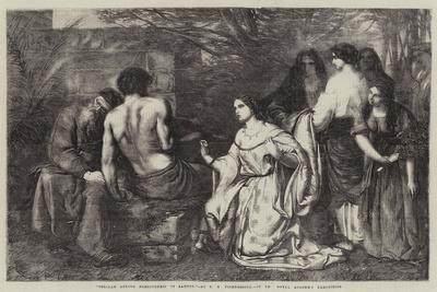 Delilah Asking Forgiveness of Samson
