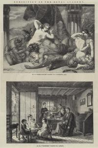 Exhibition of the Royal Academy by Frederick Richard Pickersgill