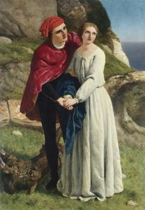 Ferdinand and Miranda from Shakespeare's The Tempest by Frederick Richard Pickersgill