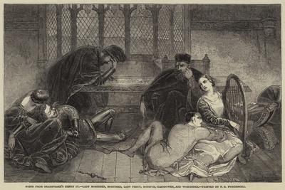 Scene from Shakespeare's Henry Iv