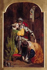 The Knight's Return (The Return of the Crusader), 1846 by Frederick Richard Pickersgill