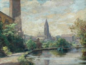 Near Bingley by Frederick Stead