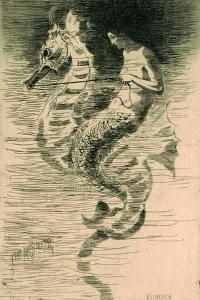The Mermaid, c.1880 by Frederick Stuart Church