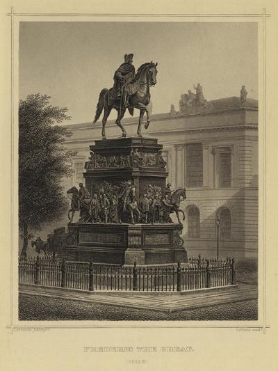 Frederick the Great, Berlin--Giclee Print