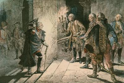 Frederick the Great-Carl Rohling-Giclee Print
