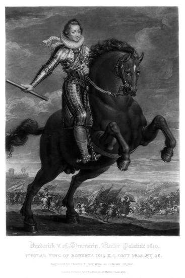 Frederick V, Elector Palantine-Charles Turner-Giclee Print