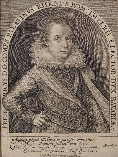 Frederick V-Crispin I De Passe-Giclee Print