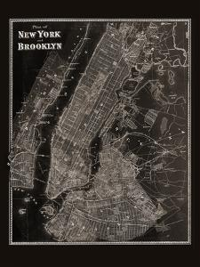 The Plan of New York and Brooklyn, 1867 by Frederick W^ Beers