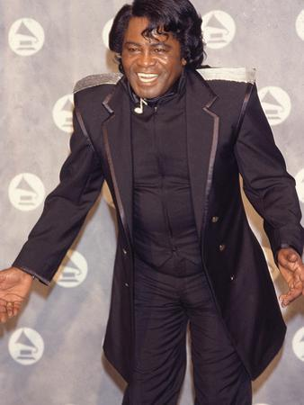 James Brown Makes an Appearance at the 34th Annual Grammy Awards, February 25, 1992
