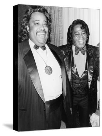 Rev. Al Sharpton at James Brown, 58th Birthday Celebration, 1991