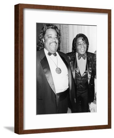 Rev. Al Sharpton at James Brown, 58th Birthday Celebration, 1991