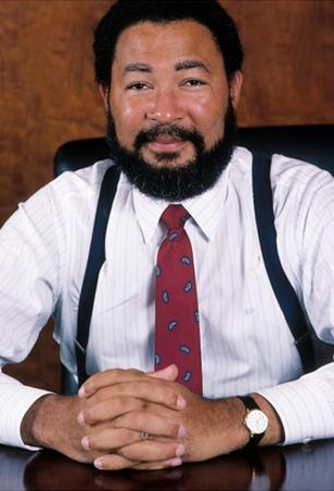 Richard D. Parsons, in His Office in September 1988