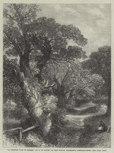 A Country Lane in Surrey by Frederick William Hulme