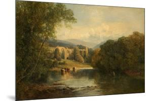 Bolton Abbey, North Yorkshire, 1858 by Frederick William Hulme