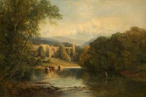 Bolton Abbey, North Yorkshire, 1858 by Frederick William Hulme