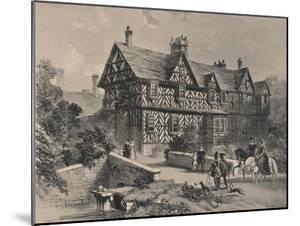 Pitchford Hall, Shropshire, 1915 by Frederick William Hulme