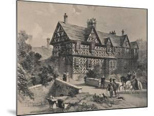 Pitchford Hall, Shropshire, 1915 by Frederick William Hulme