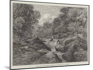 The Strid, Wharfdale, Yorkshire by Frederick William Hulme
