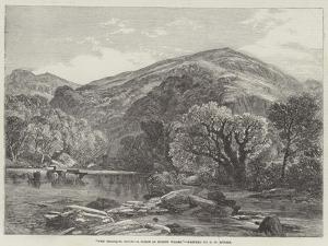 The Tranquil Hour, a Scene in North Wales by Frederick William Hulme