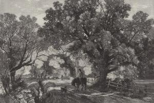 The Waning Year, in the Exhibition of the Royal Academy by Frederick William Hulme