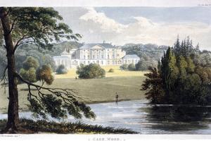 Kenwood House, Hampstead, London, 1810 by Frederick Wilton Litchfield Stockdale